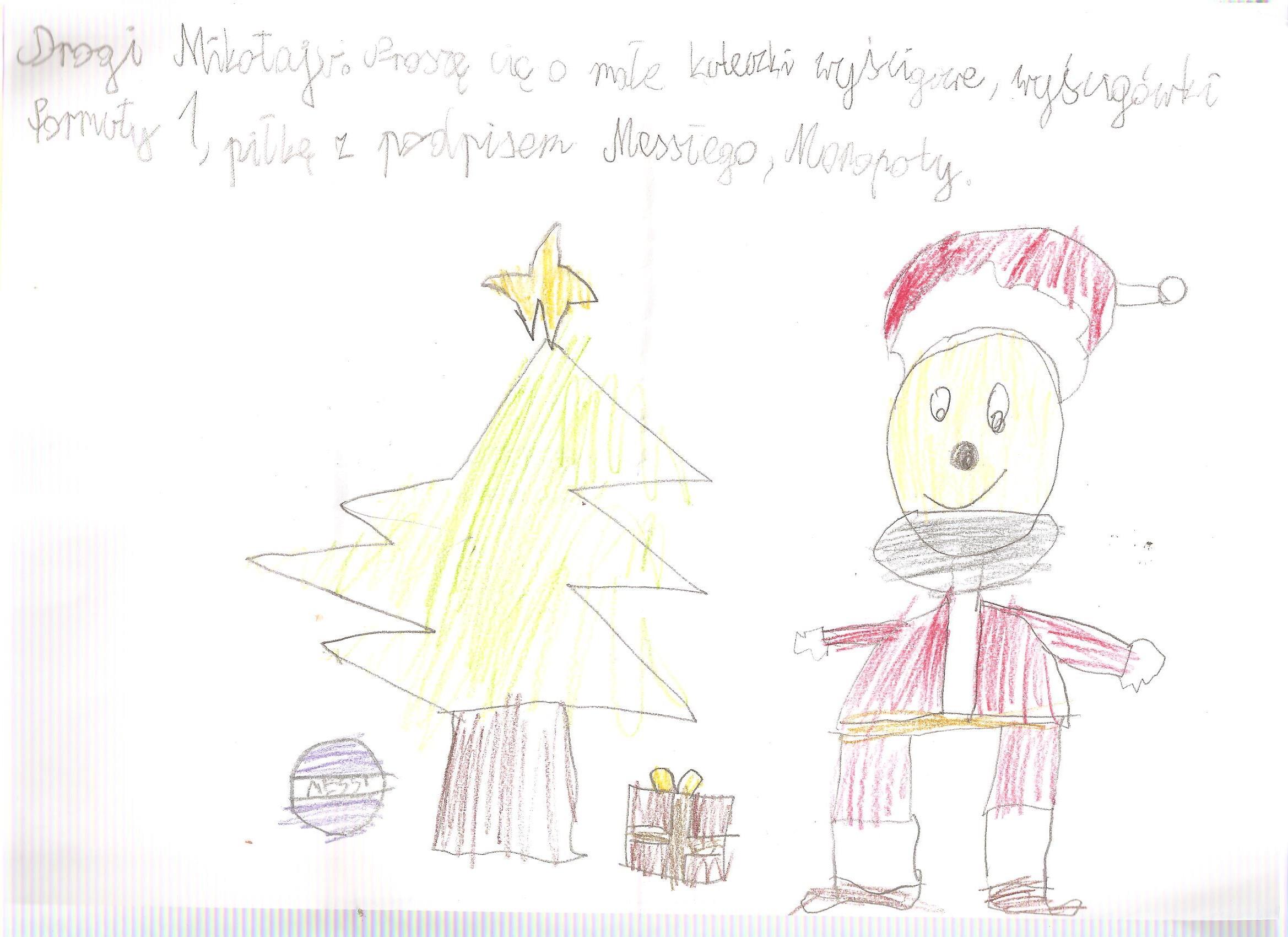 Grzegorz Ochociński, 9 lat